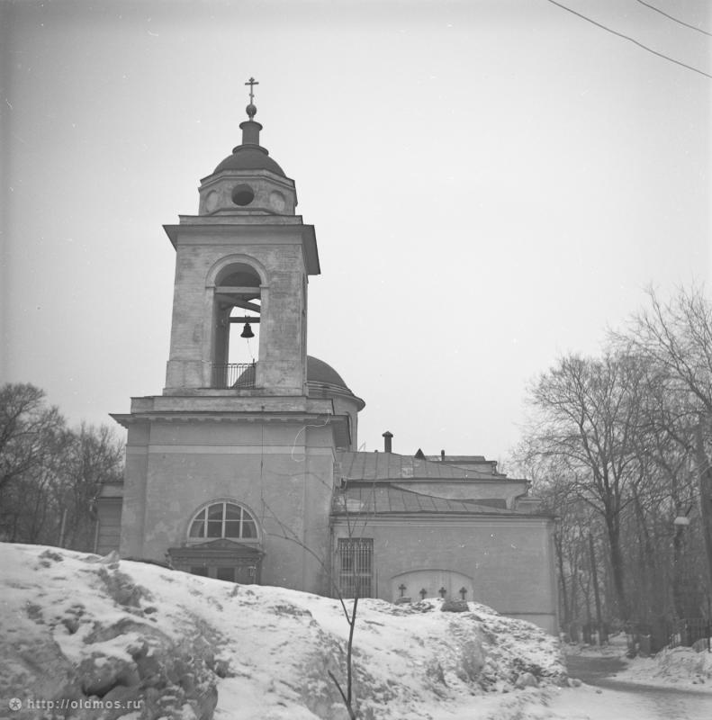 Даниловское кладбище было