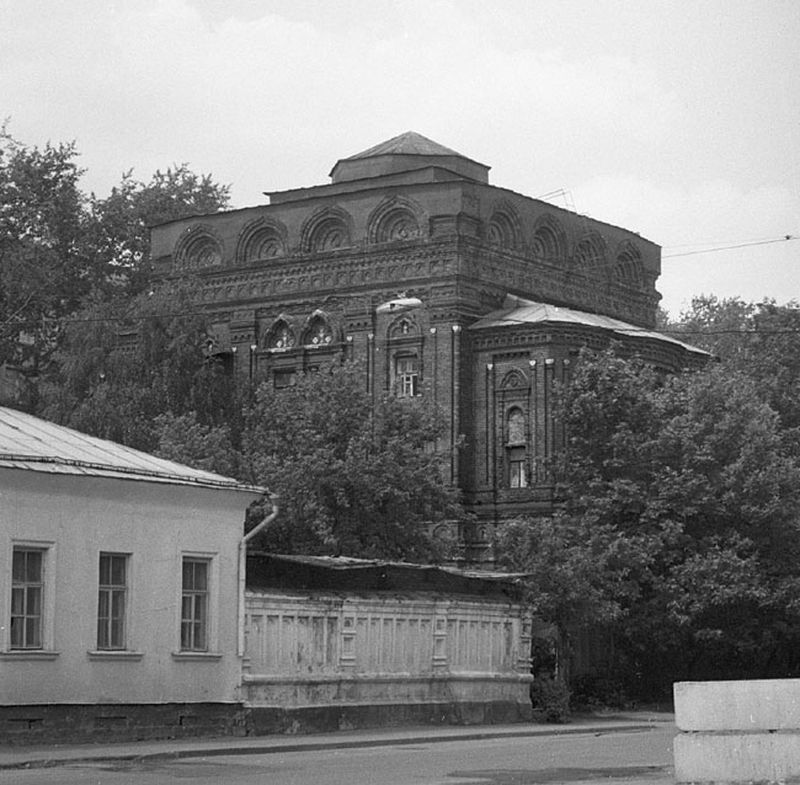 Закладка храма, сооруженного в